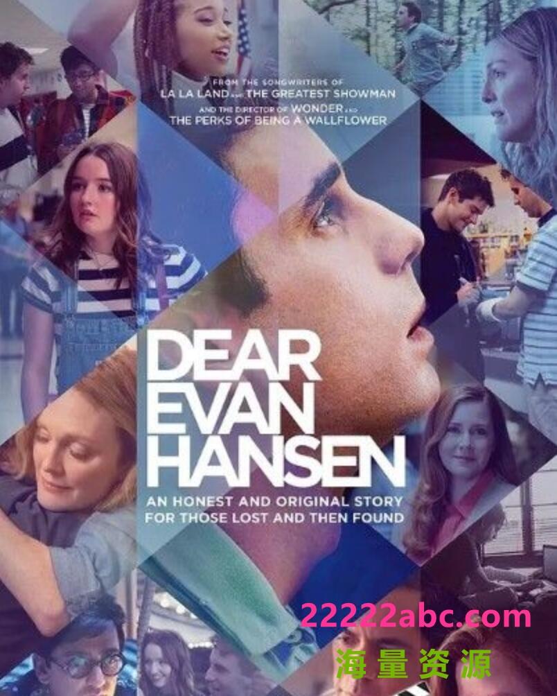 2021美国剧情歌舞《致埃文·汉森》HD1080P.中英字幕